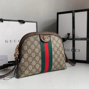 GUCCl✨Small Handbag Ophidia Rounded Top Shoulder Bag